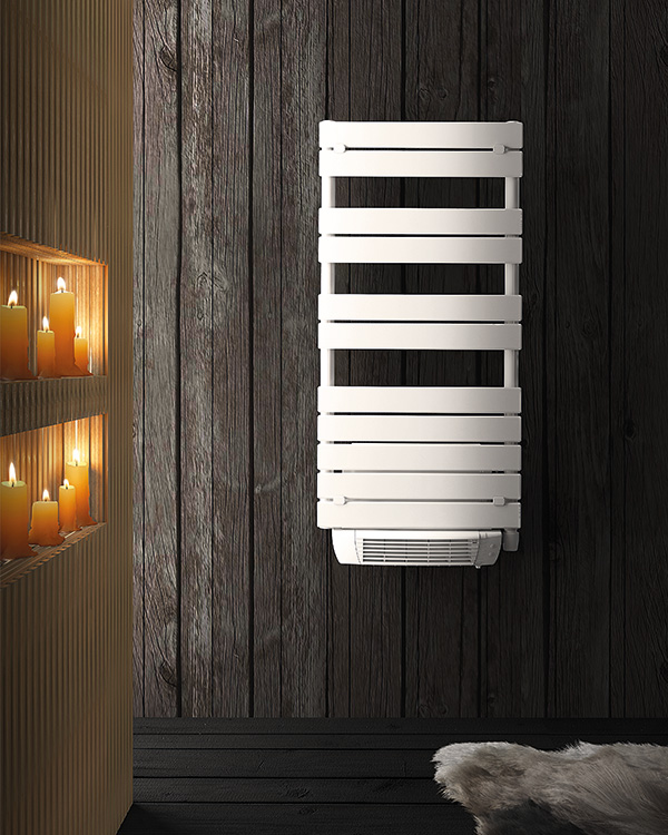 Combined Hydronic And Electric Towel Warmers