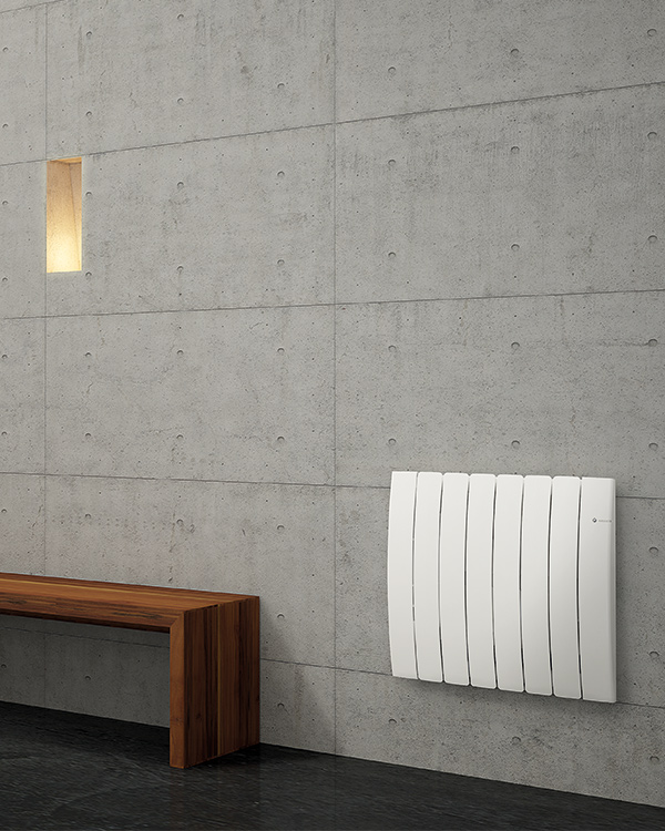 Oil filled or heating stone electric radiators dl radiators - Termosifoni elettrici a parete ...